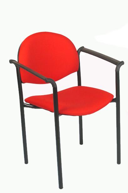 Basflex sillas de oficina silla visita confort for Sillas de visita para oficina