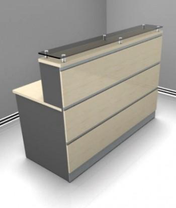 Basflex mobiliario mobiliario mueble para for Muebles recepcion oficina