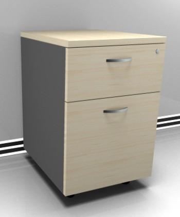 Basflex mobiliario mobiliario cajonera m vil 1 for Muebles de oficina con llave